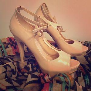 High heel pumps!